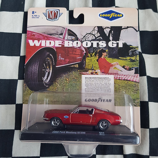 M2 Machines 1;64 GOODYEAR 1968 Ford mustang GT390
