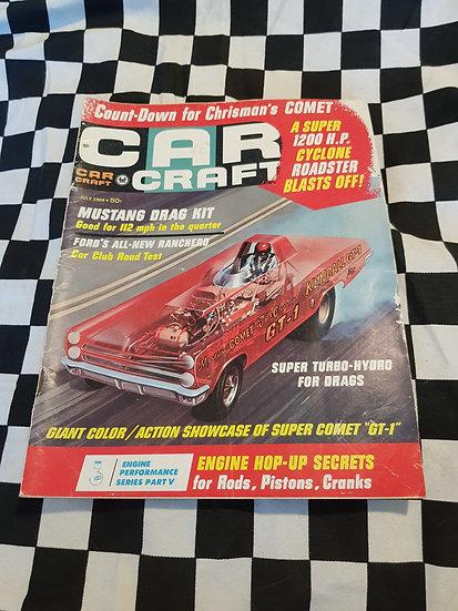 CAR CRAFT Magazine July 1966