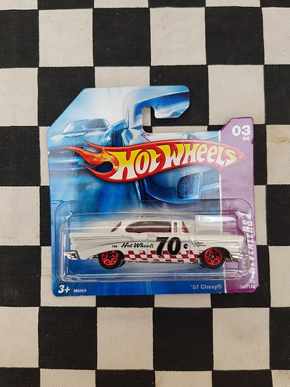 Hot Wheels 2008 Revealers 57 Chevy Short Card