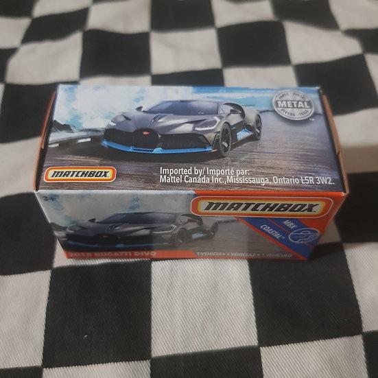 Matchbox Power Grab 2018 Bugatti Divo VHTF