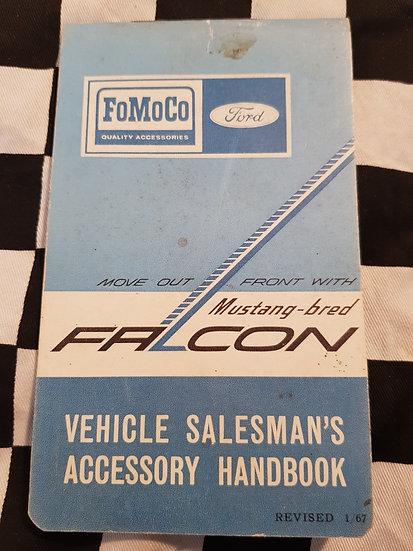 Nos XR Falcon VEHICLE SALESMANS ACCESSORY HANDBOOK