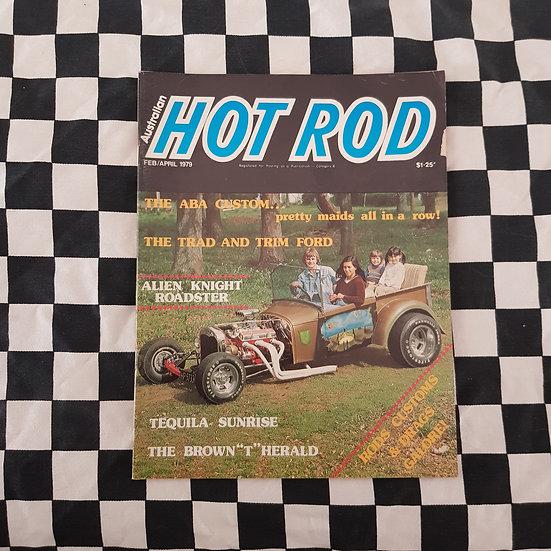 Australian Hot Rod Magazine Feb April 1979