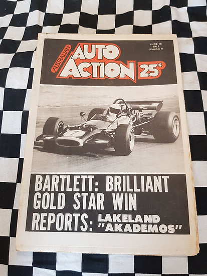 Australian Auto Action Magazine #9 June 16 1971