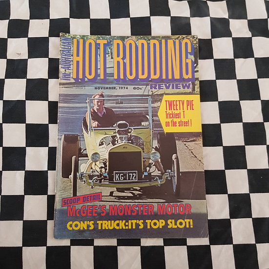 Australian Hot Rodding Review Nov 1974