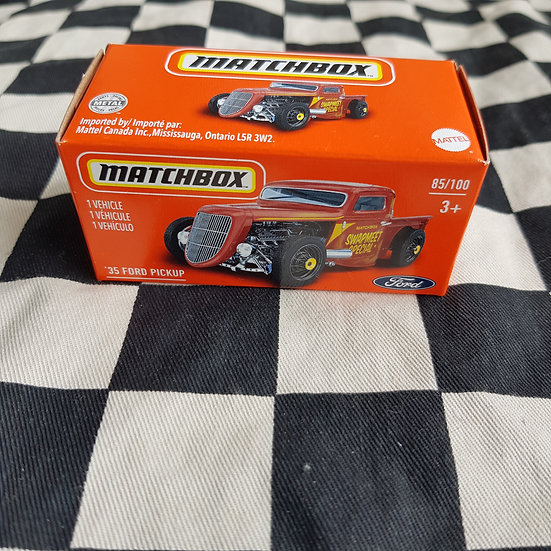 Matchbox Power Grab 33 Ford Pickup Hot Rod Rat Rod Swap Meet Special