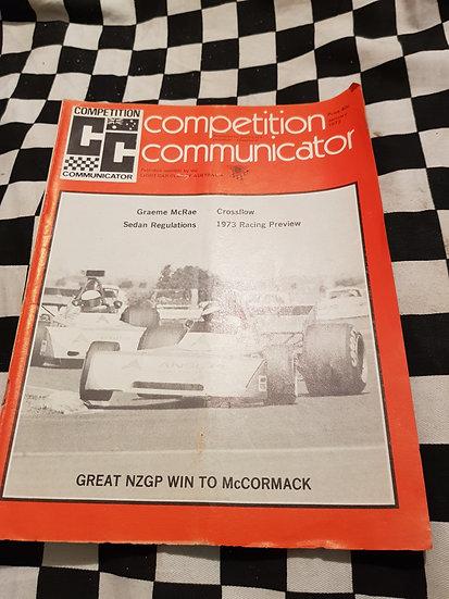 Competition Communicator Vol 1 #4 jan 1973 race programme