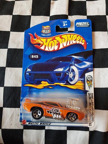 Hot wheels 2003 First Edition 69 Pontiac GTO Judge