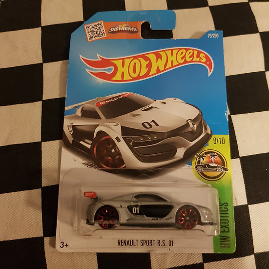 Hot Wheels 2019 Exotics Renault Sport RS 01 Silver