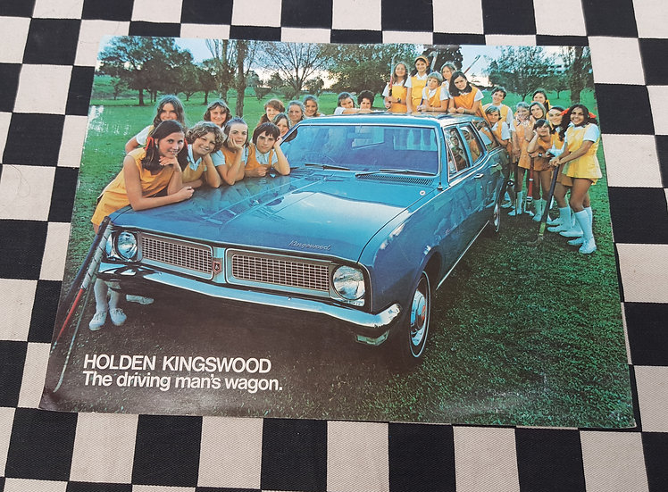 HG Holden Wagon Sales Brochure Kingswood