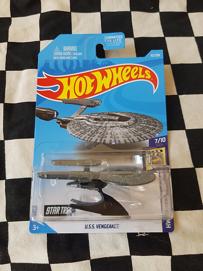 Hot Wheels 2017 Screen Time Star Trek U.S.S Vengeance