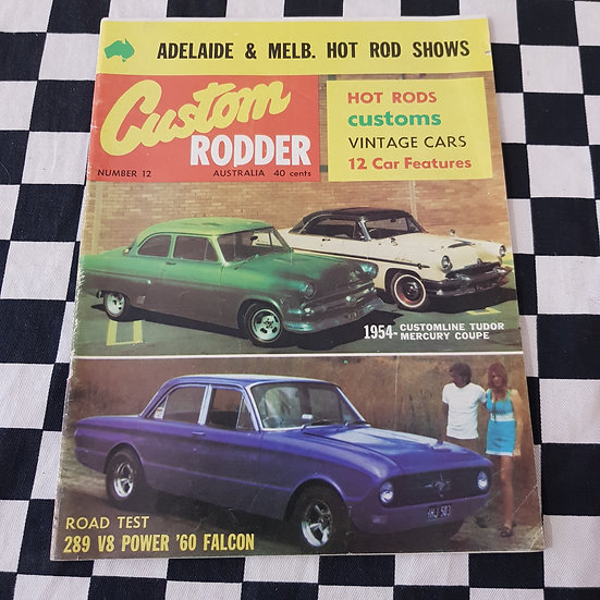 Custom Rodder # 12  1971