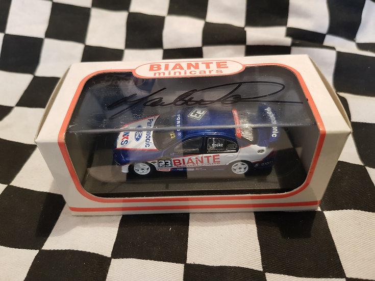 Biante 1:64 SIGNED! #23 Mark Noske Racing 2003 AU XR8 Falcon