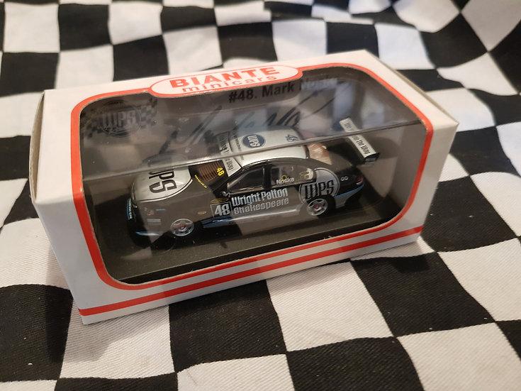Biante 1:64 SIGNED! #48 Mark Noske 2004 WPS Racing BA Falcon