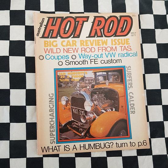 Australian Hot Rod Magazine May 1971