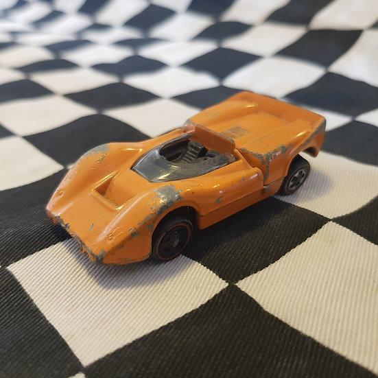 Hot Wheels Vintage Redline Mclaren M6A Orange Enamel