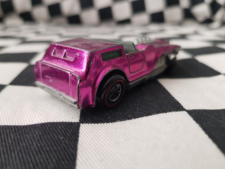 Hot Wheels Redline The Hood Pink Magenta