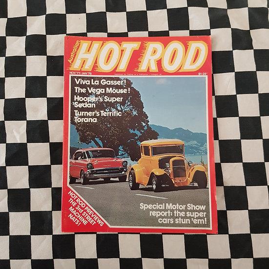 Australian Hot Rod Magazine Nov Dec 77 Jan 78
