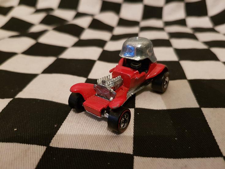 Hot Wheels Vintage Redline Red Baron Loose Red Enamel