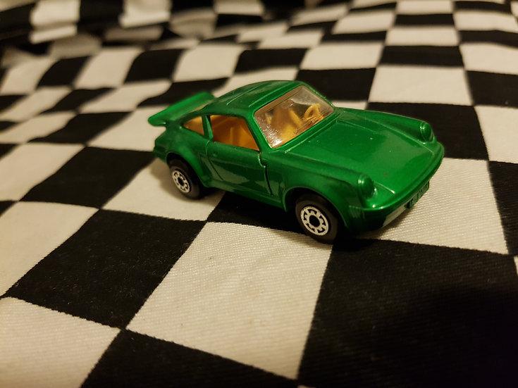 Loose Mint Matchbox Superfast Porsche Turbo Green