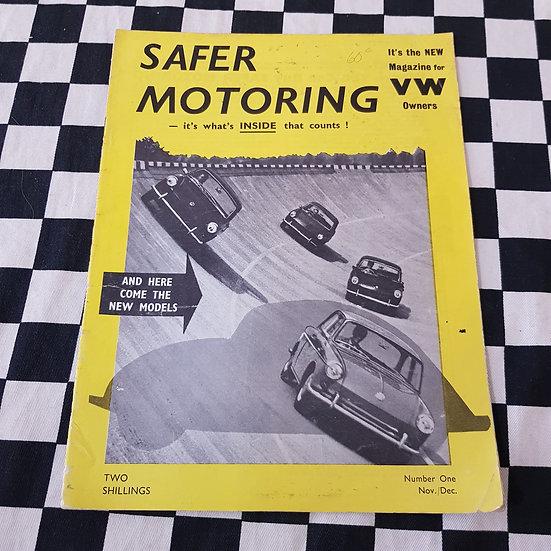 VW owners Magazine Safer Motoring Number 1 1961