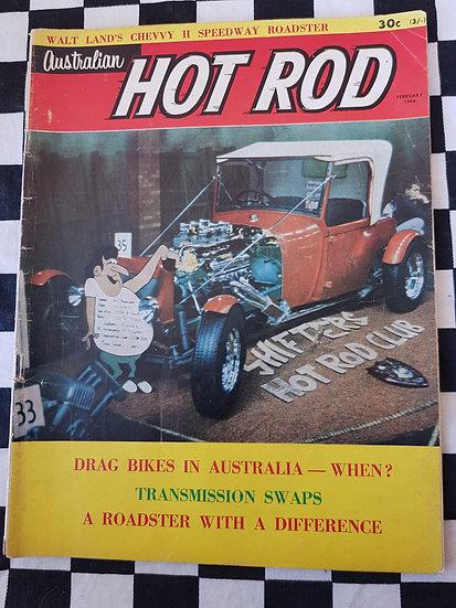 AUSTRALIAN HOT ROD february 1966