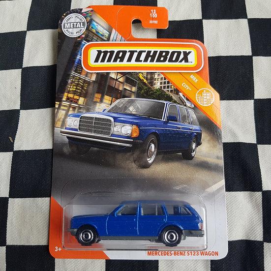 Matchbox Mbx City Mercedes Benz S123 Wagon Blue