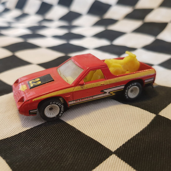 Hot Wheels Vintage loose Dodge Rampage Real Riders White Hubs