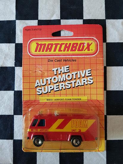 Matchbox Airport Foam Tender 1986