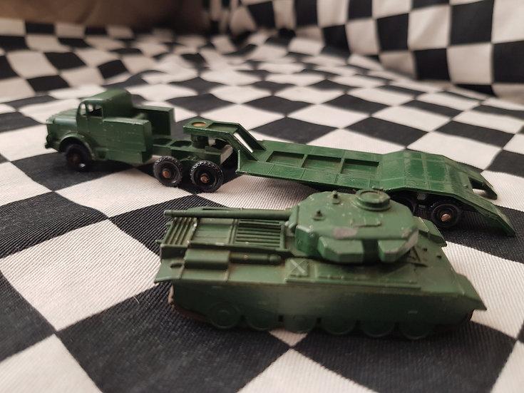 Lesney Thornycroft Centurion Mk 3 Tank Transporter Set Nice!