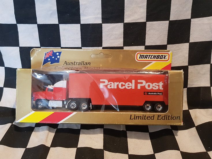 Matchbox Limited edition Australia Post Convoy truck