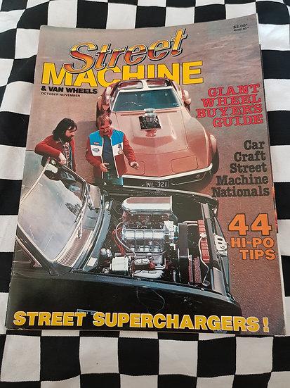1st Edition of STREET MACHINE & VAN WHEELS Magazine Oct/Nov 1981