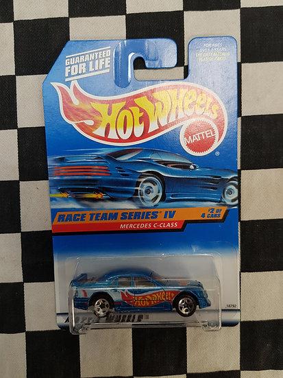 Hot Wheels 1997 Race Team IV 4 Mercedes C Class