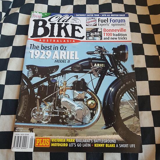 Old Bike Magazine #2 Vintage/ Classic Motorcycles