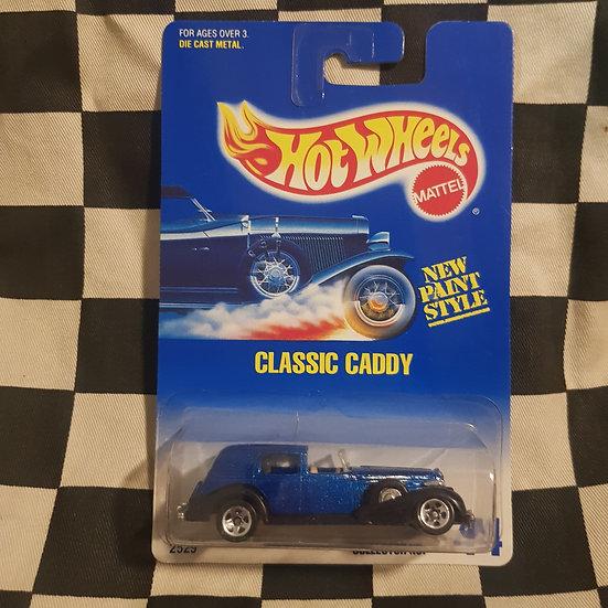 Hot Wheels 1991 Blue Card #44 Classic Caddy