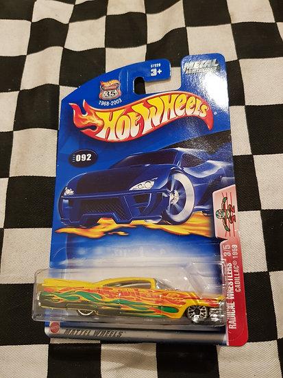 Hot Wheels 2003 Radical Wrestlers 1959 Cadillac