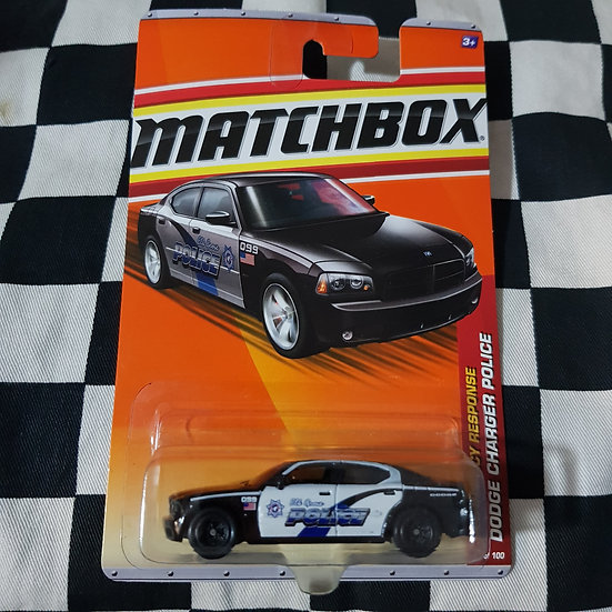 Matchbox  2011 Dodge Charger Police Car