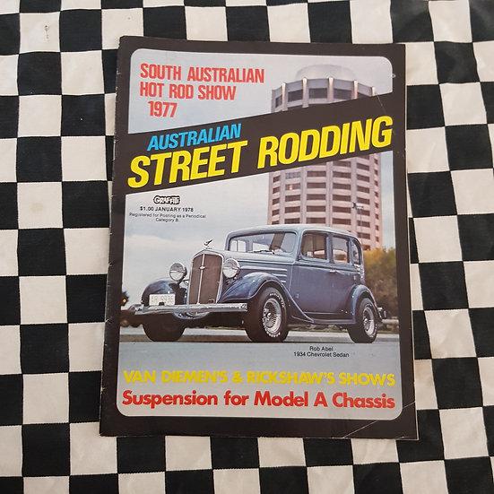 Australian Street Rodding #4 January 1978