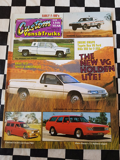 CUSTOM VANS & TRUCKS magazine #59
