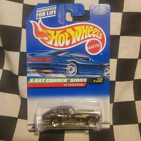 Hot Wheels 1998 Xray Cruiser 63 Corvette