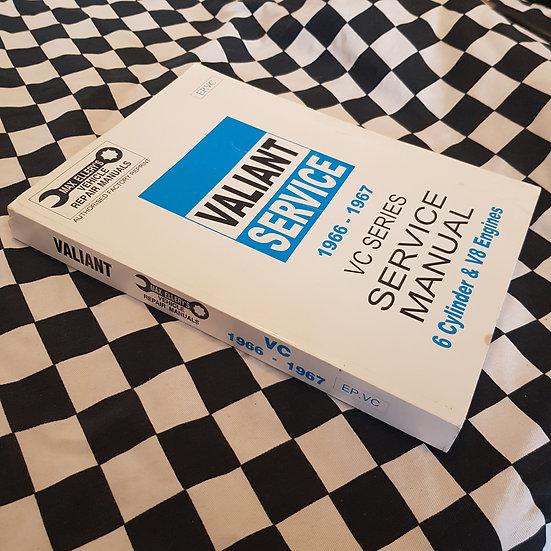 Ellerys VC Valiant V8 & 6cyl Workshop Manual