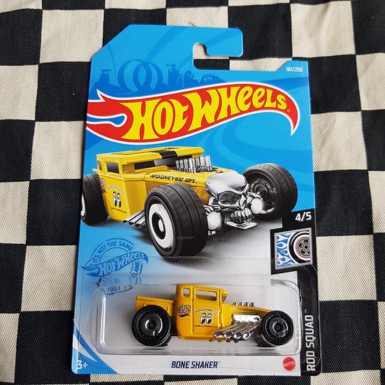 Hot Wheels 2021 Rod Squad MOONEYES Bone Shaker Hot Rod