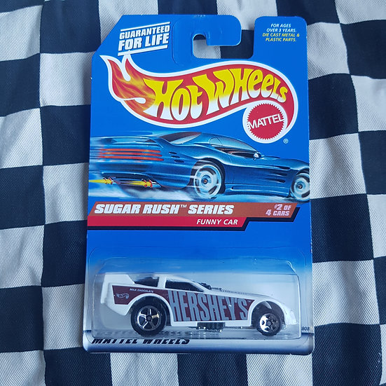 Hot Wheels 1997 Sugar Rush  Funny Car Hersheys
