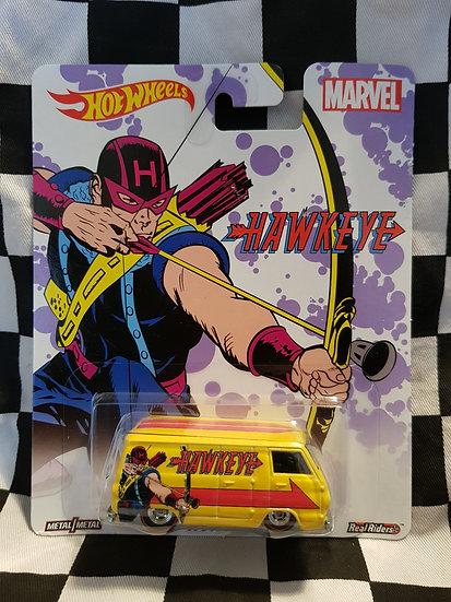 Hot Wheels Retro Entertainment Marvel Hawk Eye 66 Dodge A100