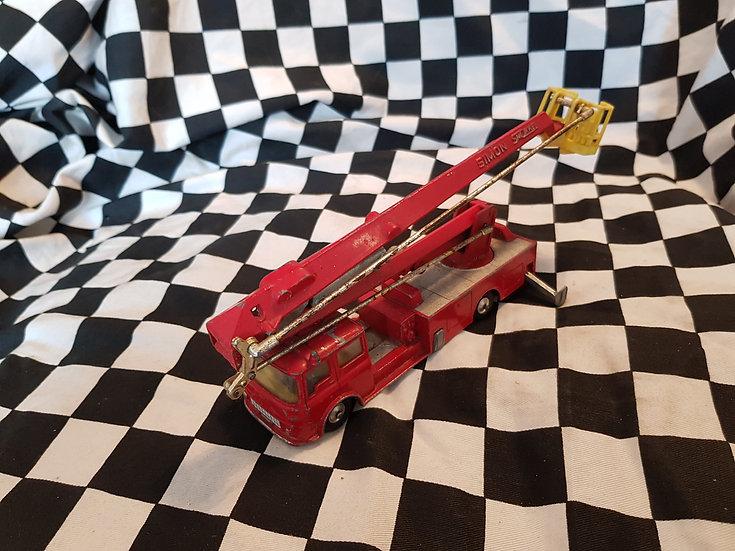 Vintage Corgi Major Snorkel Fire Engine loose
