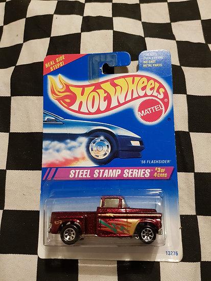 Hot Wheels 1994 Steel Stamp Series 56 Flashsider
