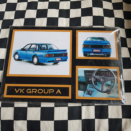 Tin Sign Repro 20x30 Holden Commodore Vk Group A