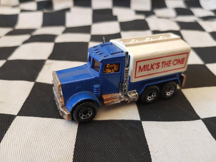 Matchbox Peterbilt Tanker Truck    Milks the One