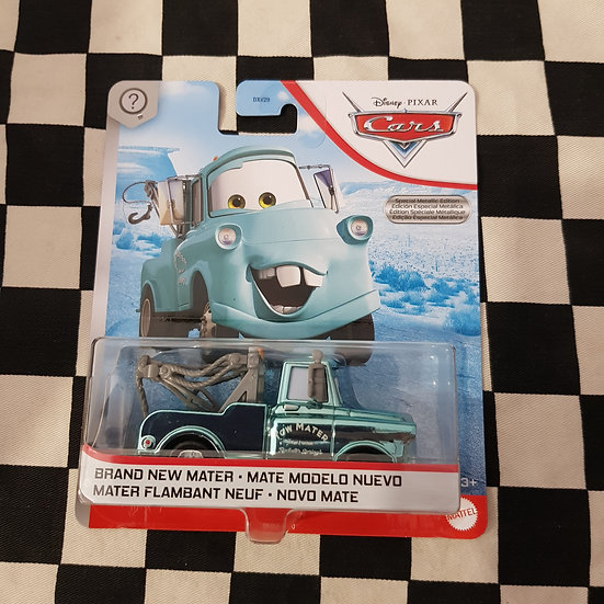 Disney Pixar Cars CHASE Brand New Mater Metallic Aqua