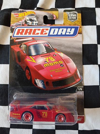 Hot wheels raceday 78 Porsche 935-78 red