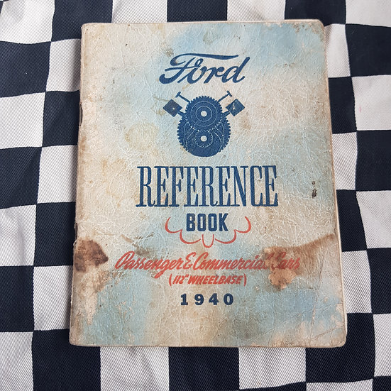 1940 Ford Reference Book Passenger & Commercial Vehicles